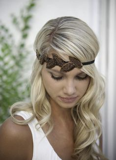 #UsTrendy #Spring #Style  headband paired with curls would look amazing!