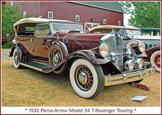1932 Pierce-Arrow Touring - (Pierce-Arrow Motor Car Company Buffalo, New York 1901-1938)