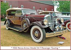 1932 Pierce-Arrow Touring - (Pierce-Arrow Motor Car Company Buffalo, New York 1901-1938)
