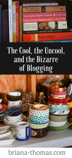 Here's a little behind-the-scenes peek at some of the things blogging entails!