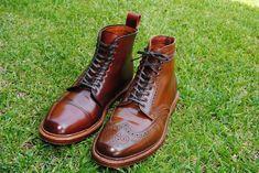 Allen Edmond shell cordovan boot comparison