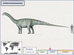 Chinshakiangosaurus by cisiopurple