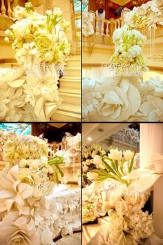 previously, we had the pleasure of working with the other family members of our client, lending our floral touches to their engagement and ...