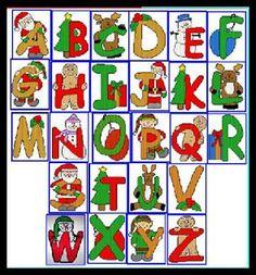 Advent Calendar, Holiday Decor, Home Decor, Alphabet, Decoration Home, Room Decor, Advent Calenders, Home Interior Design, Home Decoration