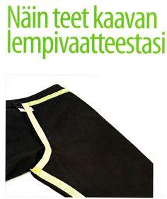 Näin teet kaavan lempivaatteestasi Suuri Käsityökerho 8/2006
