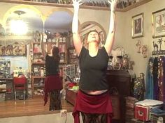 Yasmina's Weekly Belly Dance Lesson, lesson 3