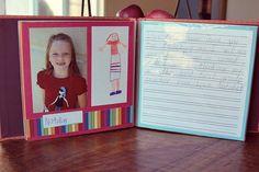 Teacher appreciation scrapbook | Cool Mom Picks