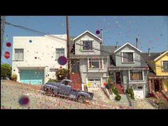 Sony Bravia bouncy balls commercial in SF