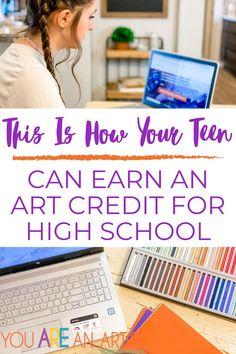 High School Curriculum, Homeschool Curriculum Reviews, Homeschool Books, Art Curriculum, Homeschool Kindergarten, Homeschooling, High School Art, Chalk Pastels, Check