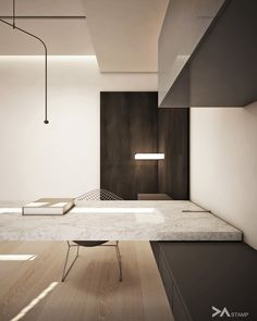 Minimalist Home Office Ideas – Office Design 2020 Design Studio Office, Office Furniture Design, Office Interior Design, Home Office Decor, Office Interiors, Office Ideas, Modern Minimalist Bedroom, Minimalist Office, Bureau Design