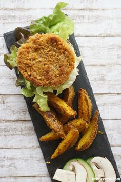 Burgers vegan quinoa tofu rosso echosverts.com