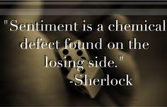 Sherlock BBC quote sentiment
