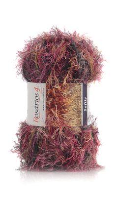 SOFTLY PRINT | Ball 50g Composition: 100% Polyester Needles: 7 (USA 10 1/2)