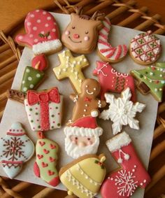 christmas cookies - in Japanese. Just inspiration!