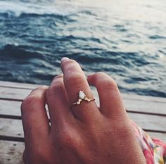 Opal & Diamond La Kaiser for Local Eclectic Exclusive Ring - local eclectic …