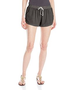Billabong Juniors Road Trippin Woven Shorts Off Black Small ** Continue to the product at the image link. Casual Shorts, Casual Outfits, Off Black, Road Trippin, Night Outfits, Billabong, Gym Shorts Womens, Image Link, Amazon