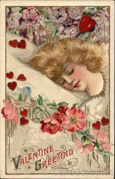 Schmucker Valentine Postcard