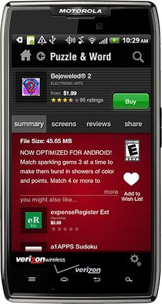 Verizon Adds The ESRB App Rating System!