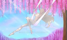 tree swing drawing \ tree swing ` tree swing diy ` tree swing ideas ` tree swing for adults ` tree swings for kids ` tree swing painting ` tree swing drawing ` tree swing without branches Drawing Base, Manga Drawing, Art Drawings Sketches, Cartoon Drawings, Manga Poses, Poses References, Art Base, Drawing Reference Poses, Drawing Challenge