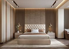 Modern bedroom design - 4 Principles for Creating the Perfect Bedroom Modern Luxury Bedroom, Luxury Bedroom Design, Master Bedroom Interior, Modern Master Bedroom, Bedroom Furniture Design, Master Bedroom Design, Luxurious Bedrooms, Home Bedroom, Master Suite
