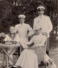 Felix, Nicholas, Zenaida with Felix Sr