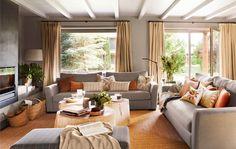 La casa inspirada en un cálido hotelito