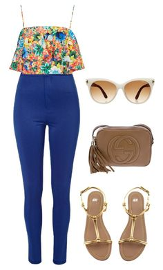 #225 by nandamfontes on Polyvore featuring Topshop, River Island, H&M, Gucci and Tom Ford