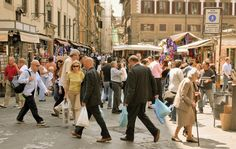 When streets are pedestrian, people come out. They use them. The streets become alive.