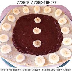 Vamos a desayunar  muy rica la crema de cacao y chia muy  jeje que paséis un buen día