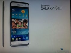 Is this the Samsung Galaxy SIII? http://t3n.de/news/samsung-galaxy-siii-zeigt-375997/