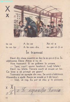 Abecedar 1959 – Un zâmbet de copil… Vintage School, Kids Education, My Childhood, Event Ticket, Nostalgia, Classroom, Activities, Learning, Books