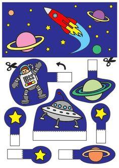 kijkdoos de ruimte x knutselen 26773. Knutselen voor kinderen. De mooiste Knutselwerkjes voor op school en in het onderwijs.: