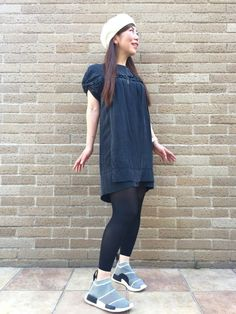 aco(Bijouterie euro flat)|adidasのスニーカーを使ったコーディネートWEAR outfit