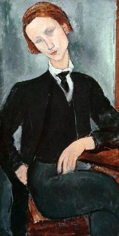 amadeo modigliani ₪ baranovsky (livourne I884 † I920) portrait peinture art