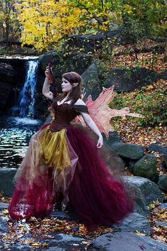 Fall Fairy almost looks real