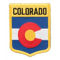 Collectible United States Of America COLORADO State Patch