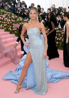 Candice Swanepoel Photos - Candice Swanepoel attends The 2019 Met Gala Celebrating Camp: Notes on Fashion at Metropolitan Museum of Art on May 2019 in New York City. - Candice Swanepoel Photos - 7 of 4329 Gala Dresses, Blue Dresses, Celebrity Outfits, Celebrity Style, Celebrity Red Carpet Dresses, Celebrity Gowns, Met Gala Outfits, Met Gala Red Carpet, Red Carpet Fashion