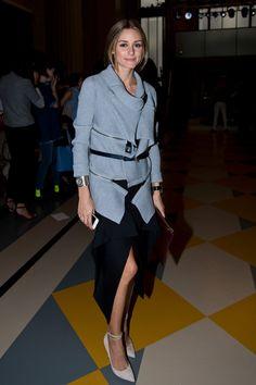 Olivia Palermo: Front Row At Emilia Wickstead SS15 - London Fashion Week