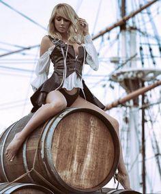 Sara Jean Underwood Pirate lady of the night
