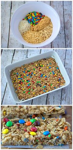 #health #fitness #book click here: http://nthoc.mikegeary1.hop.clickbank.net nice Homemade Mini M&M Granola Bars Recipe - Crafty Morning #health #fitness #book click here: http://nthoc.mikegeary1.hop.clickbank.net Check more at http://foodrecipesdaily.info/2015/08/27/homemade-mini-mm-granola-bars-recipe-crafty-morning-2/