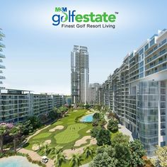 "TRIVIA TIME: Which of the following is true about M3M Golf Estate? a)    Spread over a sprawling 75 Acres, M3M Golf Estate is located near Golf Course Road (Ext.) in Sector 65, Gurgaon.  b)    M3M Golf Estate boasts of luxury apartments built around a 9-hole executive ""In City"" golf course designed by world renowned Golf Plan, USA.  c)     The architecture is a perfect amalgamation of eco-friendly green landscapes and cutting edge design.  d)    All of the above."