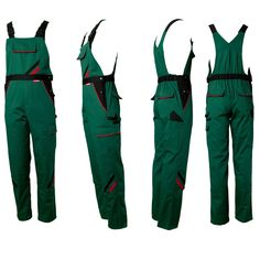 Gardeners clothing trousers Overalls Dungarees Work Line green in Business, Office & Industrial, Industrial Supply/MRO, Protective & Safety Gear | eBay