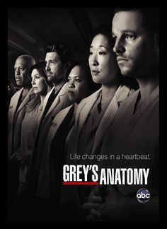 Quadro Poster Series Greys Anatomy 4 - Decor10