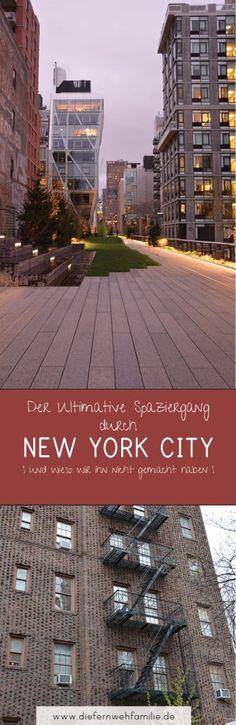 Mit dem MIetwagen quer durch die USA - Teil II - Der ultimative Spaziergang durch New York City | und wieso wir ihn nicht gemacht haben | www.diefernwehfamilie.de