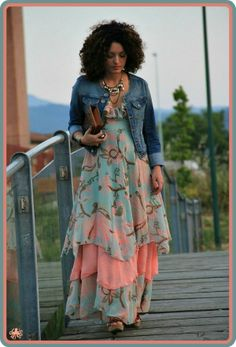 Bohemian Style Maxi Dresses *****oh my goodness here is my inspiration to learn to sew!!!!!!!!!!!!!!!!!!!!!!!**********************