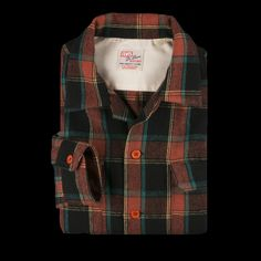 Levi's Vintage Clothing - Deluxe Check Shirt in Peanut