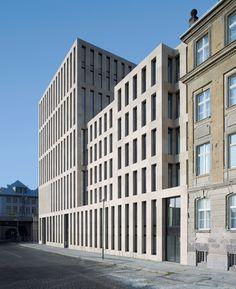 Max Dudler Architekt, Stefan Müller, George Messaritakis · Jacob and Wilhelm Grimm Centre. Berlin