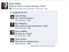 Lol  Awkward Drarry by Tylarn.deviantart.com on @deviantART