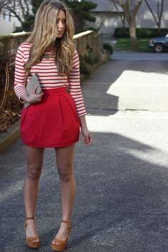 really like this outfit, especially the bubble skirt