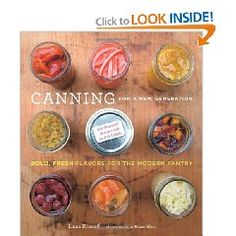 From the description: Organized by season and illustrated with beautiful photographs, it offers detailed instructions and recipes for making more than 150 canned, pickled, dried, and frozen foods, as well as 50 inventive recipes for dishes using these foods.